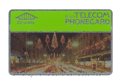 BTC004: Christmas 1987 - BT Phonecard