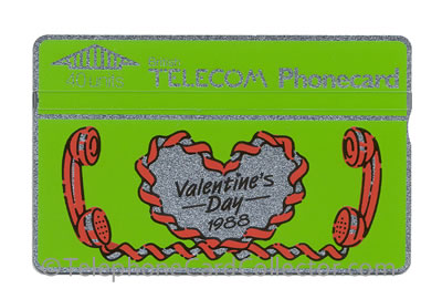 BTC005: Valentine's Day 1988 - BT Phonecard