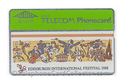 BTC007: Edinburgh International Festival 1988 - BT Phonecard