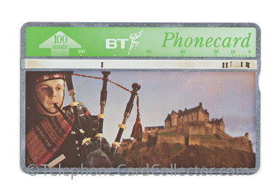 BTC057: Tourism (3) Scots Guard Piper - BT Phonecard