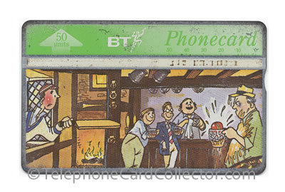BTC121: True Brits (6) But Is It Cricket? - BT Phonecard