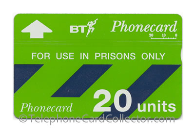 Final issue BT Phonecard for use in UK Prisons only , the card was issued in 2003