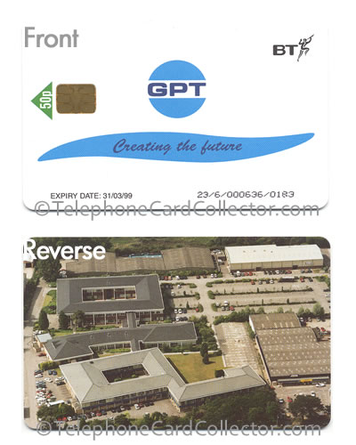 PRO262: GPT: Creating the Future - BT Phonecard