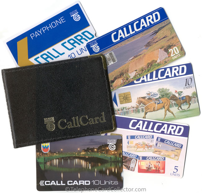 the republic of irelands then state owned telecoms company telecom eireann now privately owned and called eircom first introduced telephone cards into - Payphone Calling Cards