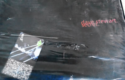 Dave Stewart (Eurythmics) Secret 5 unit phone card + t-shirt